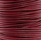 Round Leather Cord, 2.0mm, 2 Meter Pack
