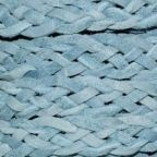 Flat Braided Real Suede, 5-Ply, 3.0mm, 2 Meter Pack