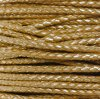 #642 Metallic Gold Braided Bolo Cord