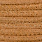 Stitched Suede Round Leather Cord, 2.5mm, 1 Meter Pack