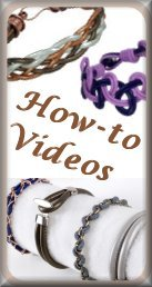 Leather Jewelry How-to Videos