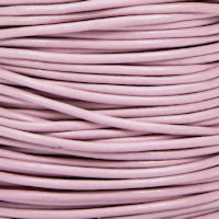 10 Meter Length Round Leather Cord 3.0 millimeter Natural